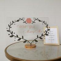 Logotipo de la casa de la marca de la marca de la marca de la decoración del letrero personalizado que se casará conmigo para los artículos de la decoración de la ventana de la ventana de la pared del arte de la boda
