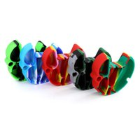silicone ashtray smokeless ashtrays rubber ash tray nonstick trays smoking accessories dab tools use for ashes dry herb