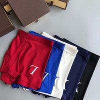 Fashion underpants Men Boxers Designers breathable Quick dry premium comfort senior A box with 3 pieces of underwear