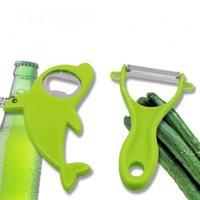 PP Acciaio inossidabile Peeling Knife Opener Apple Planing Home Frutta Rasoio Melon Rasoio Accessori da cucina FWE10103