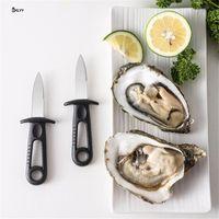 Открывалка из нержавеющей стали Oyster oyster Shells Seafood Open Tool Scallop Ножи Professional BBQ Специальный Shucking Shellfiskopen WQ733-WLL
