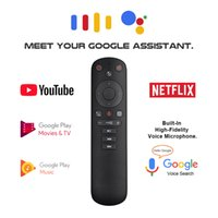 G50S Google Voice Air Remote Mouse Gyroscope Smart Android Tv Universal 2.4G USB Wireless IR learning Remote Control for Youtube