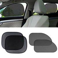 Window Sun Shade Windshield 4PCS Accessory Car Mesh Replacement Screen Sunshade