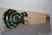 2014 новый оптовый стандарт классической электрогитары Zakk Wylde в камуфляжных музыкальных инструментах @ 15