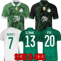 2021 ALGERIA SPEZIAL Fussball Jerseys Startseite 2022 Mahrez Argelia 21 22 Algerie Atal Feghouli Slimani Männer Kinder Kit Torhüter Fußball Hemd MAILTOT DE FEUTSPRODS
