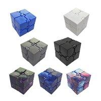 Infinity Magic Cube Creative Sky Fidget toy Antistress Office Flip Cubic Puzzle Mini Blocks Decompression Funny Toys