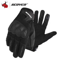SCOYCO Motorfiets Zomer Ademend Mesh Moto Touch Functie Motorfike Motocross Off-Road Racing Handschoenen