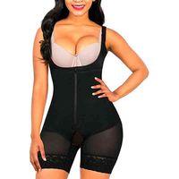 Shaper Femmes Shapewear Tummy Control Fajas Colombianas Ouvrir Body Body Slimmer Corps