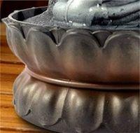 الإبداعية ديكورات المنزل الراتنج تدفق المياه الشلال أدى نافورة بوذا تمثال محظوظ فنغ شوي الحلي المشهد ديكور 248 S2