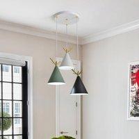 Chandeliers Modern Crystal Black Pendant Lamp Industrial Light Fixture Glass For Kitchen Nordic Decoration Home Lamparas De Techo Hanglampen