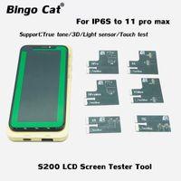 LCD-Display-Screen-Tester-Box für 6S 7 8 PLUS X XR xS 11PRO MAX TRUE TONE-Lichtsensor 3D-Berührung Reparatur-Tool-Handy-Reparatur an