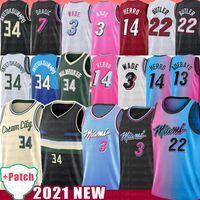 Miami Heat Tyler 14 Jimmy Herro 22 Butler Giannis 34 Antetokounmpo Basketball Jersey Ray Dwayne Allen Dwyane Bam Wade Goran Duncan 55 Dragic Adebayo Robinson
