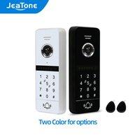 Video Door Phones Jeatone 4-Wired 960P Full Touch Sensor Doorbell Outdoor Unit,Support Password Card Unlock ,Work With 86s Wifi Monitor