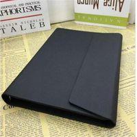Agenda de luxe Business Business Cadre Cuir Black Couverture Noir Note classique Périodial Advanced Diary Design Notepads Notebook 5A Ebga