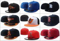 جميع فرق البيسبول الرياضة جاهزة كاب الرجال المرأة شقة أزياء لنا كامل قبعات مغلقة عارضة الترفيه بلون الأزياء حجم الصيف الخريف قبعة