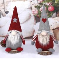 Toys de Noël Jouets Décoration Poupée Père Noël pour la maison Fête de Noël Nouvel An Cadeaux Navidad