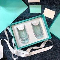 Botella de agua de té de té de taza de té de color clásico con taza de jugo de café con caja de regalo
