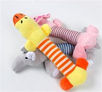 Hot Dog Toy Pet Puppy Plush Sound Chew Squeaker Squeaky Pig Elephant Duck Toys 328 V2