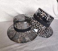 Wide Brim Hats Solid Transparent Women's Buckets Fisherman's Caps Girls PVC Beach Sun Visor Waterproof Rain Hat Plastic Cap
