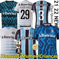 Top Thai Quality 21/22 Gremio D.Costa N ° 10 Home 3rd Soccer Jerseys Guild Giouliano 2021 2022 Ramiro Geromel Luan Maicon Fernandinho Enfels de chemise de football