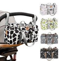 Stroller Parts & Accessories Print Strollers Baby Trolley Bag Detachable Handbag Multifunctional Organizer Pram Infant By Cart Bottle Dia