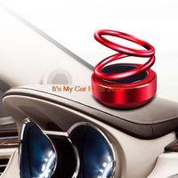 الألوان 1PCS سيارة عطر تعليق دوران carstyle الهواء اكسسوارات السيارات المعطر