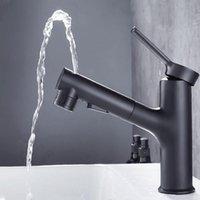 Свежие раковины для ванной комнаты выдвигают смеситель смесителя сосуда бассейна крана и холодной воды для тщеславие одно отверстие