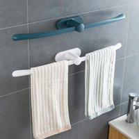 Havlu Rafları Banyo Depolama Raf Tuvalet Delikli Duvara Monte Tutucu Kanca Mutfak Mendil Gadgets