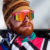 01 Das 1993 polarisierte doppelte breite Pit Viper Sonnenbrille Sport im Freien Skibrillen auf Sal YD59