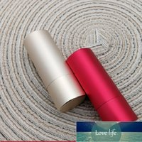 12.1mm Aluminum Empty Lipstick Tube Refillable DIY Lip Gloss Lip Balm Containers Cosmetic Packaging Bottle 10pcs Lot Factory price expert design Quality Latest