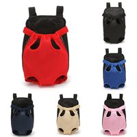 Adjustable Dog Backpack Kangaroo Breathable Front Puppy Carrier Bag Pet Carrying Travel Legs Out, Easy-Fit 10 Colors Car Seat Covers