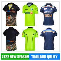 بريسيل 2021 الكريكيت القمصان قمصان الركبي ايرلندا الجديدة الهند أستراليا الماوري موحدة زيلندا