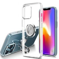 Magnet Phone Cases for iPhone 12 mini 11 13 Pro Max Shockproof Cover X XS XR 6 6s 7 8 Plus Case With Ring Holder