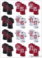 "Männer Frauen Jugend San Francisco ""49ers"" 85 George Kittle 10 Jimmy GarpoPolo 25 Richard Sherman 97 Nick Bosa Custom Football Trikots"