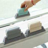3 Cores Limpe a lacuna na janela Grooves Brush Cozinha Limpeza Ferramentas Pequenas Escovas