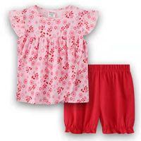 Pajamas Summer Baby Girl Clothing Set Dot Vest + Shorts Kid Boy Sets Children Boys Clothes Sleeveless 2-7yea