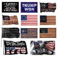 3x5FT черный американский флаг полиэстер без квартала не будет дан нам США историческая защита баннеральный флажок Двусторонняя крытая открытая CT01