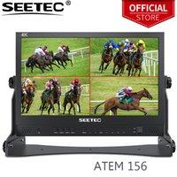 Seelec atem156 15,6 Zoll Live-Streaming-Broadcast-Direktor-Monitor mit 4 HDMI-Eingangsausgabe-Quad-Split-Display für Atem Mini