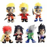 20cm anime naruto peluche jouet cool gaara hatoue kakashi uchiha itachi sasuke doux poupées poupées de Noël jouets enfants jouets enfants