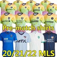 MLS 2021 2022 Unidades de amor Inter Miami CF Futebol Jerseys Los Angeles La Galaxy 21 22 Higuain Beckham Atlanta United LaFC Pre uniformes de Futebol Pré-jogo