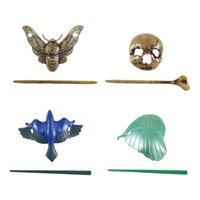 Hair Clips & Barrettes Women Retro Plastic And Resin Chopsticks Decorative Pin Vintage Bun Sticks Styling Accessories