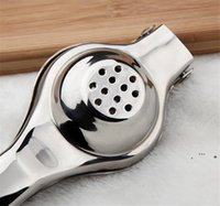 스테인레스 스틸 레몬 압착기 레몬 수동 Juicer 튼튼한 라임 스퀴즈 방지 부식 수동 라임 신선한 주스 도구 EWE6298