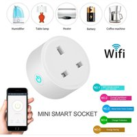 Original Smart WiFi Plug UK Wireless Socket Power Plugs With Power Meter Remote Control Alexa Phones APP Remote Control by IOS Android