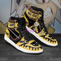 Fan DIY Anime Sneakers SOUL EATER Mens Womens Basketball Shoes Jumpman 1 Model Custom Trainers Casual shoe