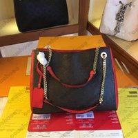 SURENE MM Chaîne Sacs Designers luxurys Empreinte Toile En Cuir Sac à main Hookbags Cross Carrosserie Sac à provisions Business Tote d'affaires A4 Purse M43759 M43758