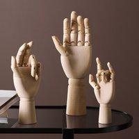 اليد الخشبية الرسم رسم عارضة عارضة نموذج عارضة أطقم المنقولة الأطراف الفنان الإنسان نموذج الديكور المنزل اكسسوارات 210318