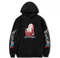 Men's Hoodies & Sweatshirts Anime Darling In The FranXX Men Women Zero Two Autumn Hooded Casual Boys Girls Clothes