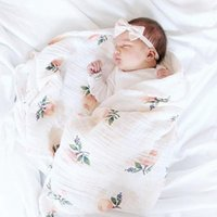 100% Bamboo Baby Swaddle Muslin Blanket Quality Better Than Aden Anais Big Diaper Wrap Infant Multi-use Blankets & Swaddling