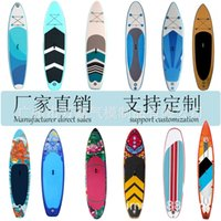 Inflatable surfboard standing sup paddle portable water yoga mat drifting paddleboard floating platform