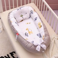 Baby Cribs Portable Travel Bed Nest Born For Boys Girls Infant Outdoor Cotton Crib Bumper